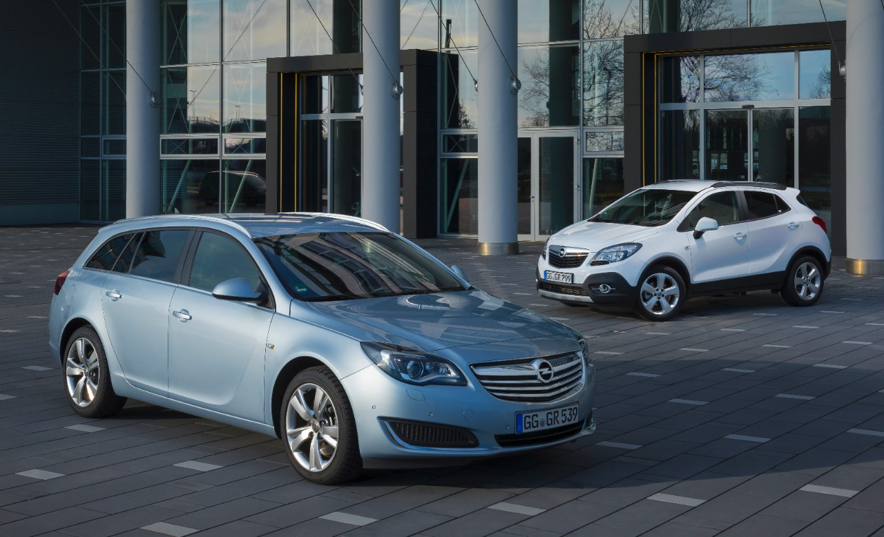Opel Insignia and Mokka