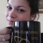 Jelena i Opel klub Srbija