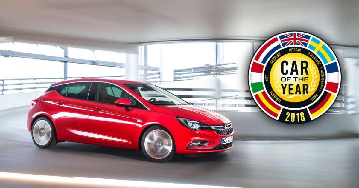 "Opel Astra ""Automobil godine 2016."""
