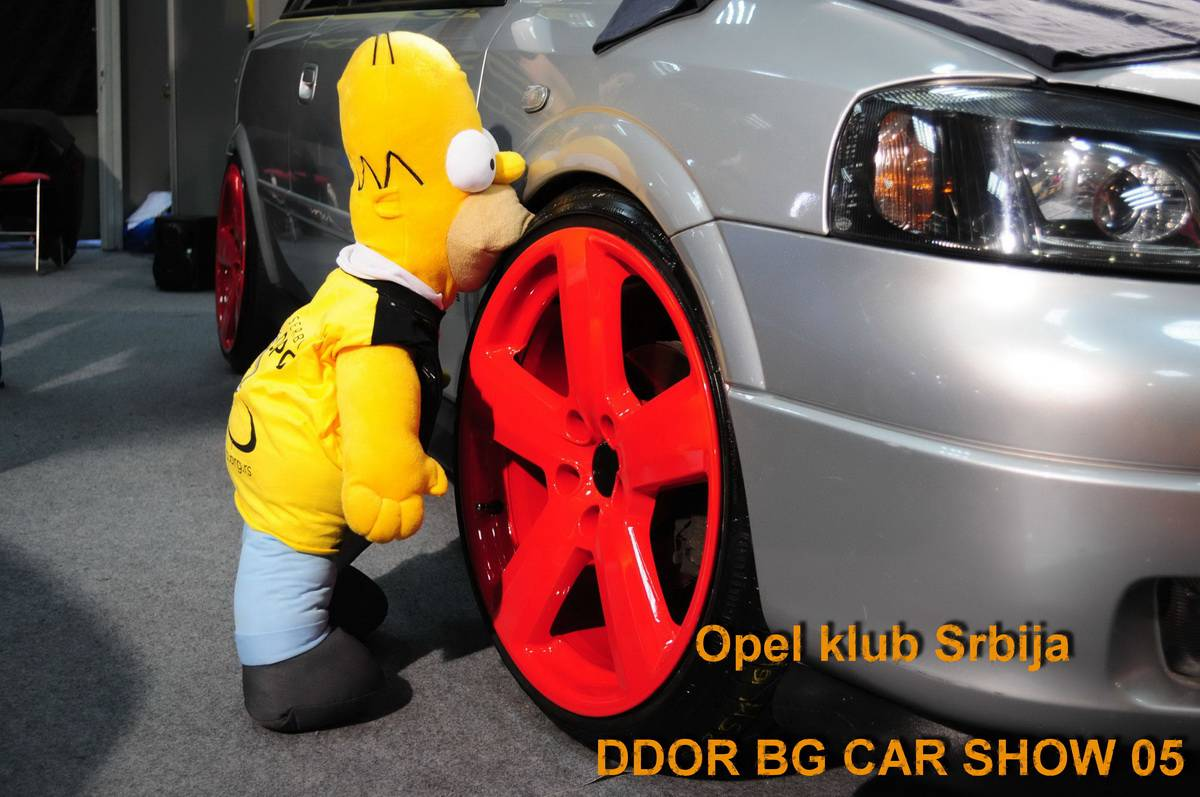 Opel klub Srbija na DDOR BG CAR SHOW 05