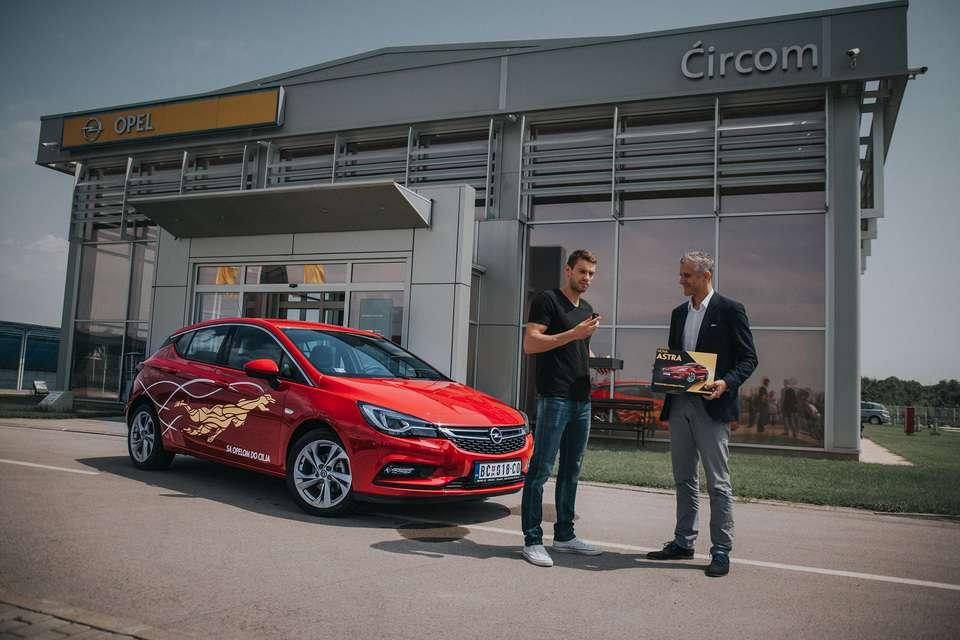 Sa Opelom do Olimpijske medalje Caba Siladji